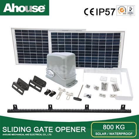 motor for automatic gate ahouse automatic solar power sliding gate opener electric