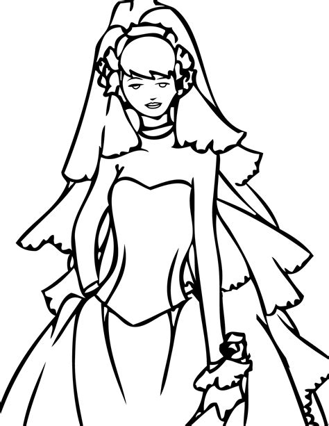 Wedding Coloring Pages (12) Coloring Kids - Coloring Kids