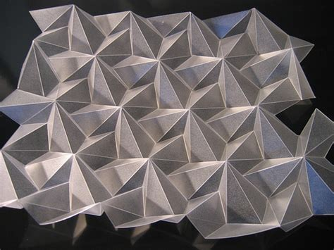 Folded Paper Designs - paper folding design milk