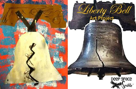 liberty bell craft for liberty bell project space sparkle