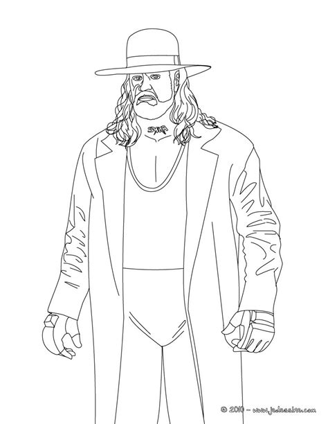 coloriage the undertaker
