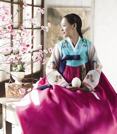 Dress Korea Cherry korean traditional dress by hanbok house fashion