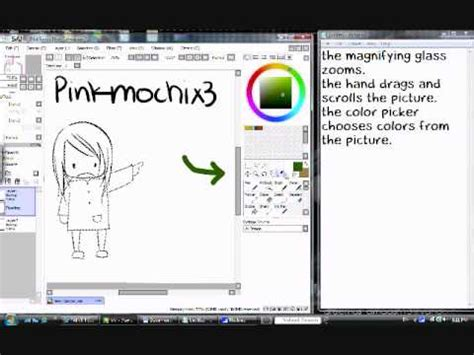 Easy Paint Tool Sai Tutorial Tools