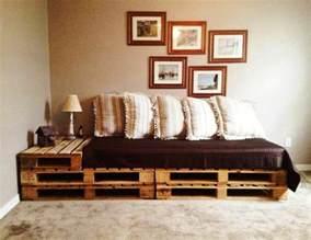 sofa aus paletten sofa aus paletten integrieren diy m 246 bel sind praktisch