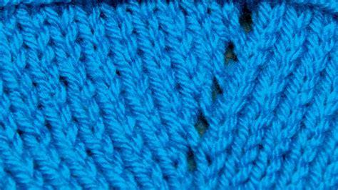 yo knitting stitch how to knit the yarn yo newstitchaday
