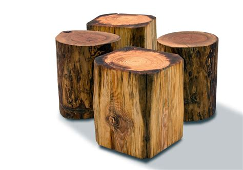 how to a tree stump end table tree stump side table brings nature fragment into