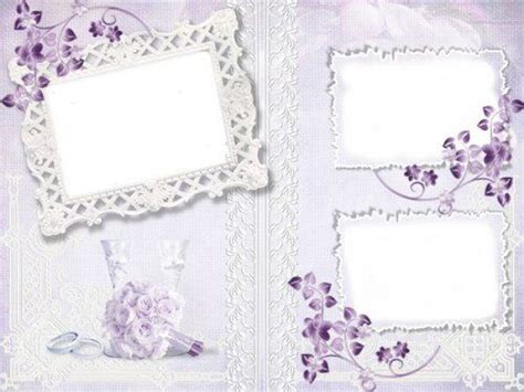 Wedding Background Frame Psd by Free Wedding Photo Frame Psd Template Free From