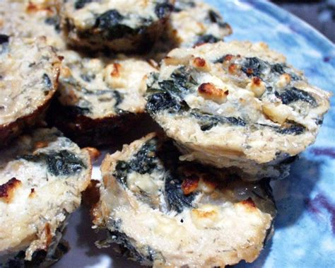 mini spinach and cottage cheese pies recipe food