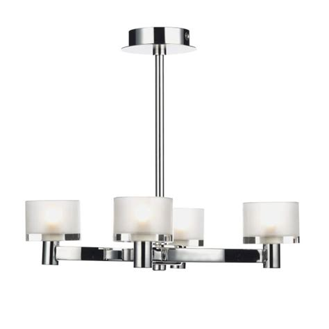 Chrome Ceiling Lights B Q Integralbook Modern Chrome Semi Flush Ceiling Light With Frosted Glass Shades