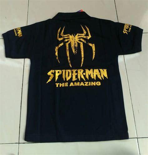 Kaos Spiderman2 grosir kaos anak karakter termurah kaos anak