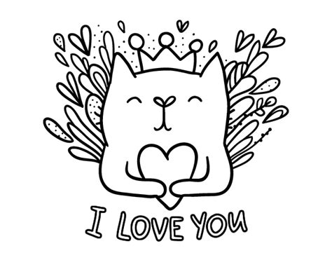 imagenes de amor para colorear tumblr dibujo de mensaje de amor para colorear dibujos net