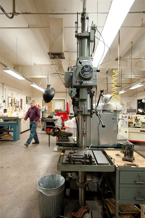 machine shop chemical engineering michigan