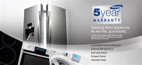 Samsung Warranty Free 5yr Warranty On Selected Samsung Appliances Appliance City