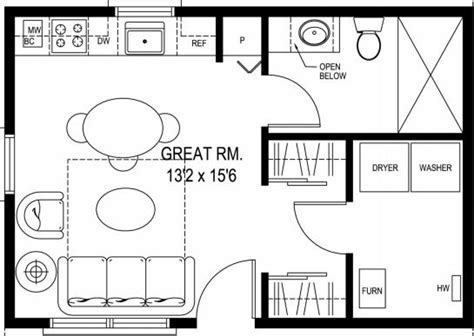 micro cottage floor plans carriage house plans small house floor plan