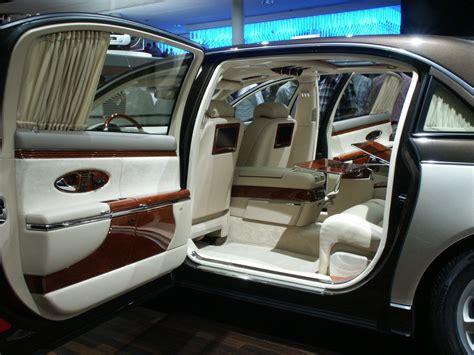 inside maybach fast cars maybach car the 8 million dollar phots