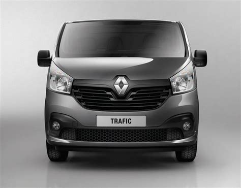 Renault Traffic by 2014 Renault Traffic Revealed With New 1 6 Dci Engine