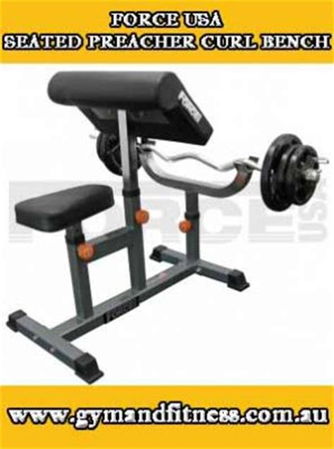 used preacher curl bench for sale for sale force usa seated preacher curl bench