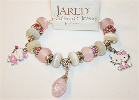 Kalung Fashion Code Rw Import 6 authentic jared pandora bracelet hello pretty in pink charms charm bracelets
