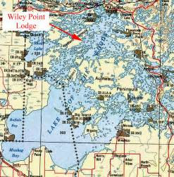lake of the woods lake map quotes
