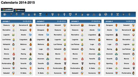 R Sociedad Calendario Y Resultados Espn Anunciado El Calendario Para El Curso 2014 15 De La Liga