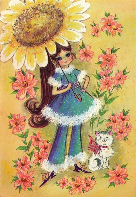 1000 images about retro vintage greeting cards on vintage 1970s cat on vintage greeting cards
