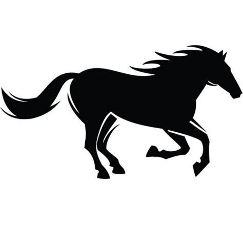 imagenes vectores de caballos caballo negro silueta gr 225 fico descargar vectores gratis
