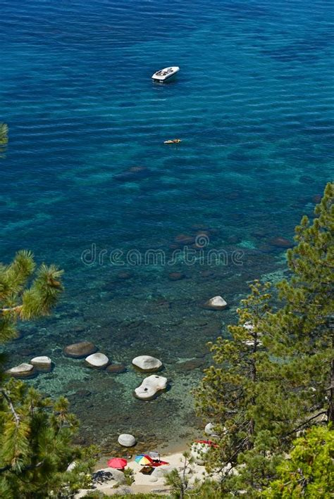 clearest water in the us lake tahoe summer royalty free stock image image 36286866