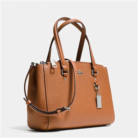 Coach Mini By J Bagsshop coach stanton carryall 26 in crossgrain leather in