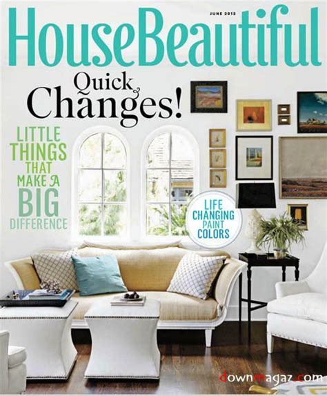house beautiful magazine house beautiful june 2012 187 download pdf magazines