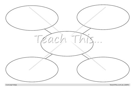 Concept Map Teach This Printable Concept Map Template
