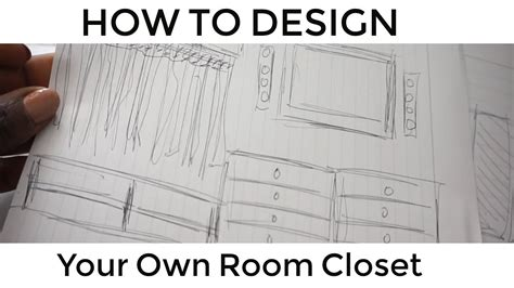 make your own room design your own room closet step by step beautycutight youtube