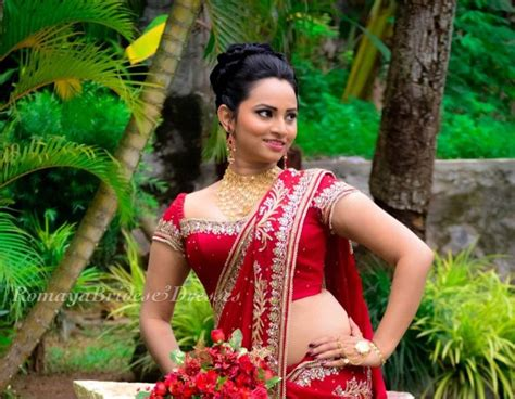 sri lanka hair s forum homecoming dressed in indian style with red saree high