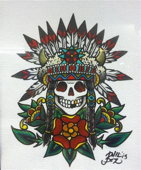 tattoo flash native american 43 best images about indian headress on pinterest