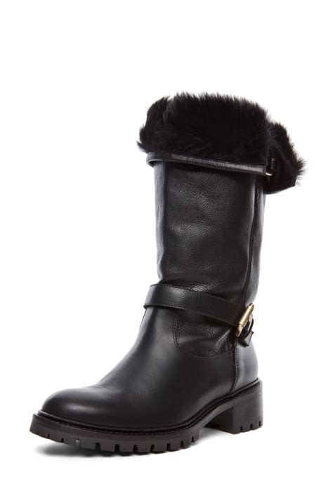 fur lined boots fur lined boots wear them in the best way careyfashion