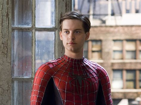 Tobey Maguire Sells His Soul by Look Who S Back Tobey Maguire Will Be Seen In A Big New