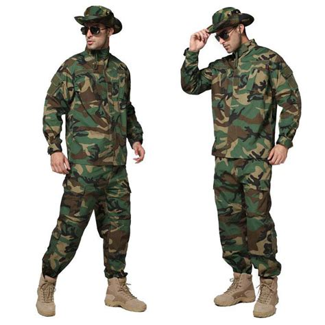jungle camouflage outdoor set combat