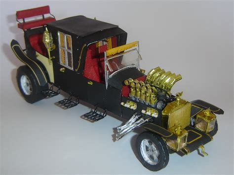Munster Car The Munsters Detailed Munster Koach Paper Car Papermodels