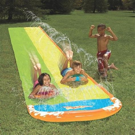 Backyard Slip N Slide by Wham O Slip N Slide Wave Rider Only 12 88 Reg 32 56 Coupon Karma