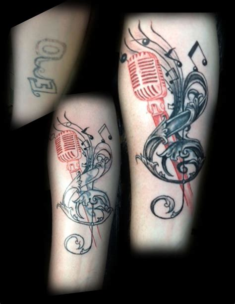 microphone tattoo cover up 42 best images about tattoos on pinterest lettering
