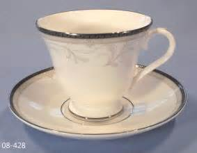 waterford brocade fine bone china cup and saucer sold