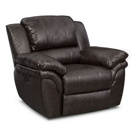 Power Reclining Sofa Set Aldo Power Reclining Sofa Loveseat And Recliner Set Brown American Signature Furniture