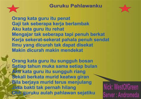 membuat puisi bertema guru polling periode ii terima kasih guru 2 4 desember 2014