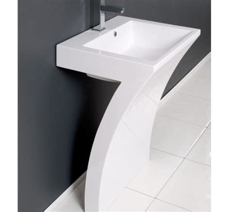 Modern Pedestal Bathroom Sinks by Contemporary Pedestal Bathroom Sinks Modern Pedestal Sink