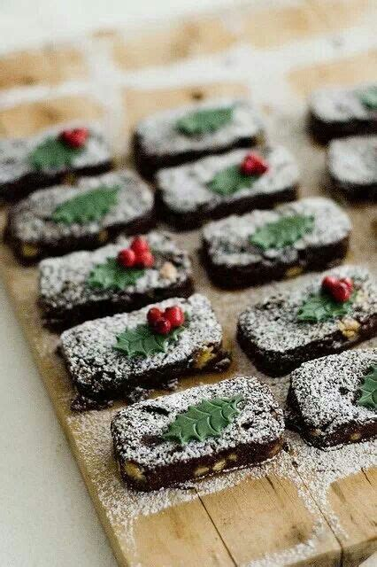 christmas brownies i love brownies pinterest