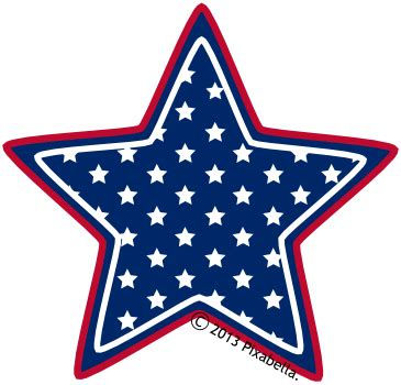 printable blue star banner free star clipart images clipart best