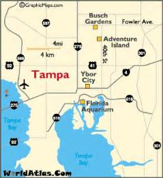 map of ta florida ta fl map