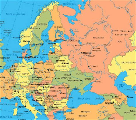 european asian map a map of europe and asia countries