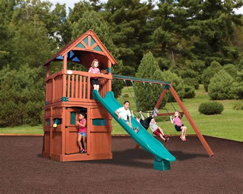 backyard playsets for kids wooden kids outdoor playsets new decoration how to
