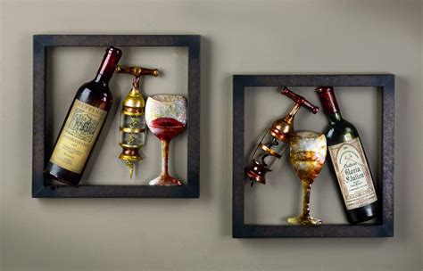 wine decorations for the home wall art ideas design pinterest wine decor wall art