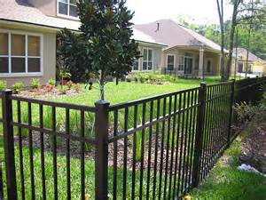 aluminum fencing wood fencing vinyl fencing and pool enclosures idea photo gallery